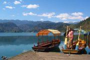 Boat tour on the Slovenien lakes
