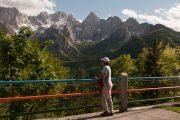 View to the Julian Alps, Granjska Gora