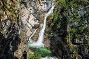 Savica Waterfall, www.slovenia.info, photo: Mojca Odar