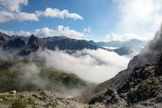 Clouds in the Maira Valley