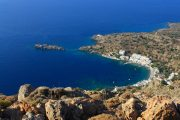 View over Loutro fishing village