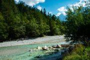 The Pisnica river, Kranjska Gora