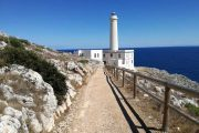 Punta Palascia Lighthouse at Capo d'Otranto, Italy's easternmost point