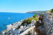 Coastal hiking path, Puglia