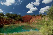 The bauxite lake, Otranto
