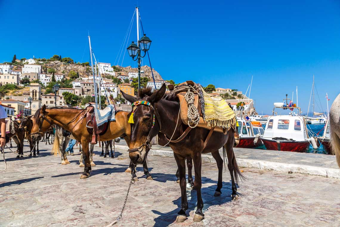 Hydra self-guided walking tour
