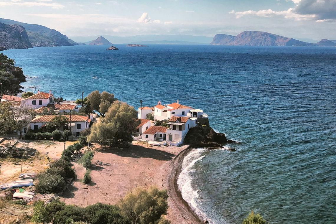 Hydra island walking holiday