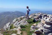 Enjoying the view over the Saronic Gulf