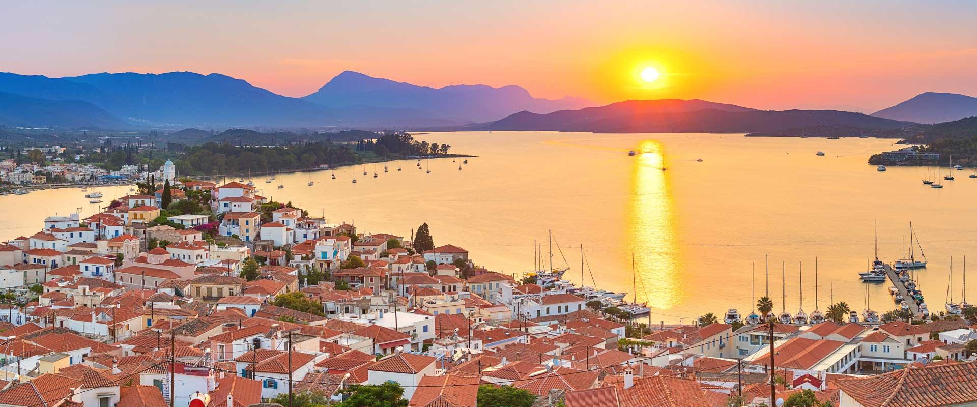Hiking on the Saronic islands