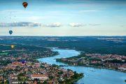 Luftballoner over Silkeborg