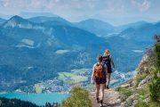 Hiking at the Schafberg