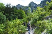 Hiking to Attersee