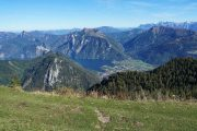 Mountain trail above Ebensee