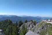 Panorama from the Schober above Fuschl am See (c) Karl Svozil