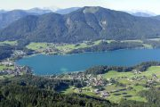 View over Fuschlsee from Schober (c) Svickova