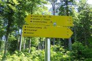 Hiking signposts, Fushcl am See