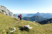 Hiking at the Feuerkogel (c) Oberösterreich Tourismus