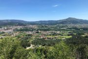 Panoramic view from the Santo Ovidio viewing point in Ponte de Lima