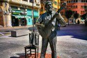 Musical statue in Gernika