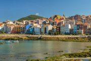 A Guarda, Galicia, on the Portuguese Camino