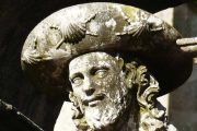Statue of St. James in Santiago de Compostela