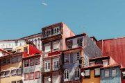 Colourful buildings, Porto