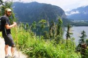 Hiking along the Hallstattersee to Bad Goisern