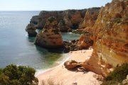 The golden cliffs of the Ponta da Piedade