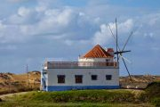 Old windmill in Carrapateira
