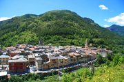 The medieval village of La Brigue in the Alpes-Maritimes
