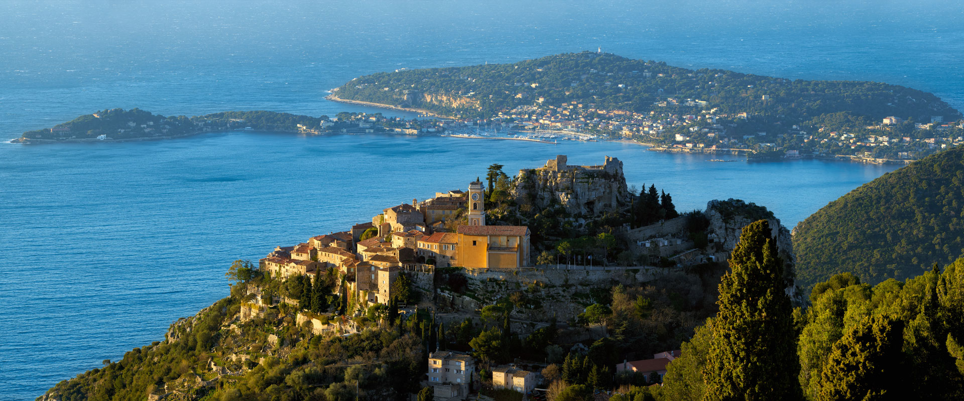 Côte d'Azur: Bjerge og kyst