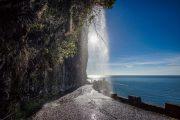 Levada hiking path, Madeira