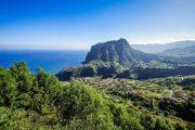 Landscape at Madeira's north coast