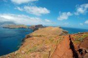 Hiking trail on the Sao Lourenco peninsula, Madeira
