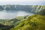 Hiking on Sao Miguel island in the Azores