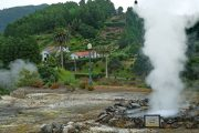 Hot springs in Furnas, Sao Miguel