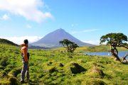 Hiking on Pico island