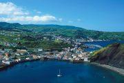 Port of Horta, Faiail island (A.A.)