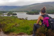 View over the Upper Lake, Killarney, on the Kerry Way