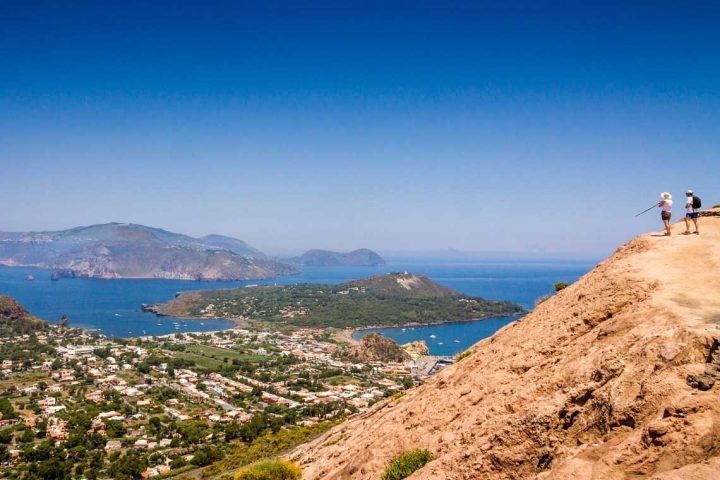Hiking in the Aeolian Islands, Sicily