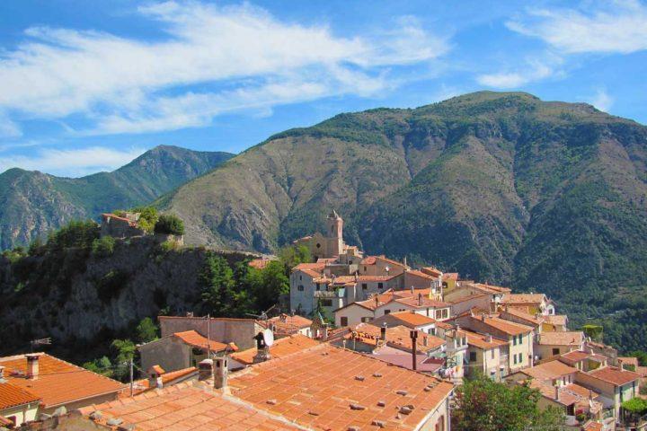 Sainte Agnes village on the French Riviera