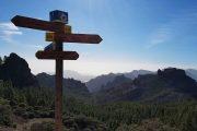 Hiking signposts