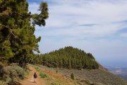 Hiking above La Lechuza
