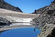 Glacial lake in the Mercantour National Park