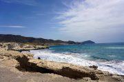Cabo de Gata coastline, between Rodalquilar and San Jose