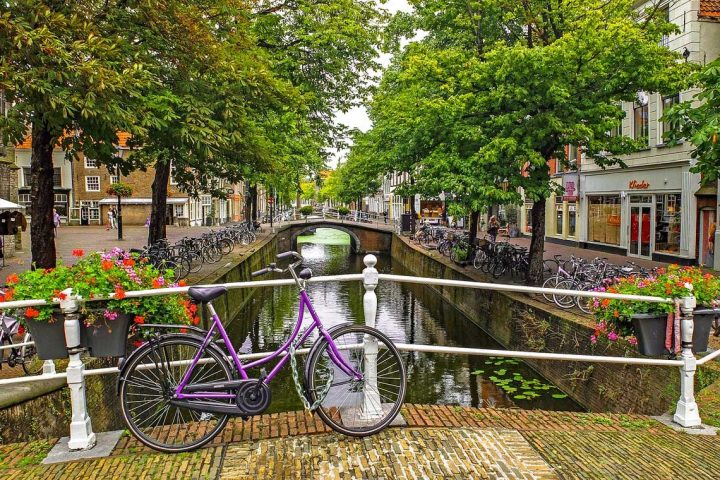 Cycling holiday in Holland