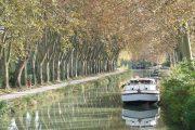 Cycling along the Canal du Midi