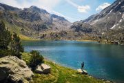 Hiking in the Pyrenees, Estany Dellui