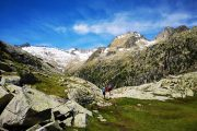 Hiking in the Vall de Boi, near Estany Travessani