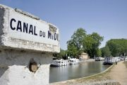 The Canal du Midi cycle path